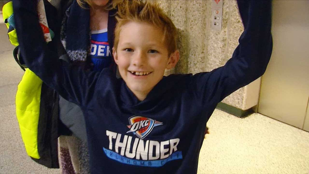 Thunder Fans On Houston Rockets Match-Up