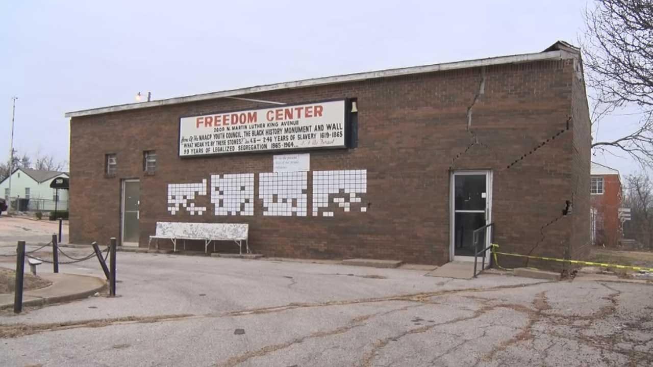 OKC's Freedom Center Getting Repairs Ahead Of Civil Rights Milestone