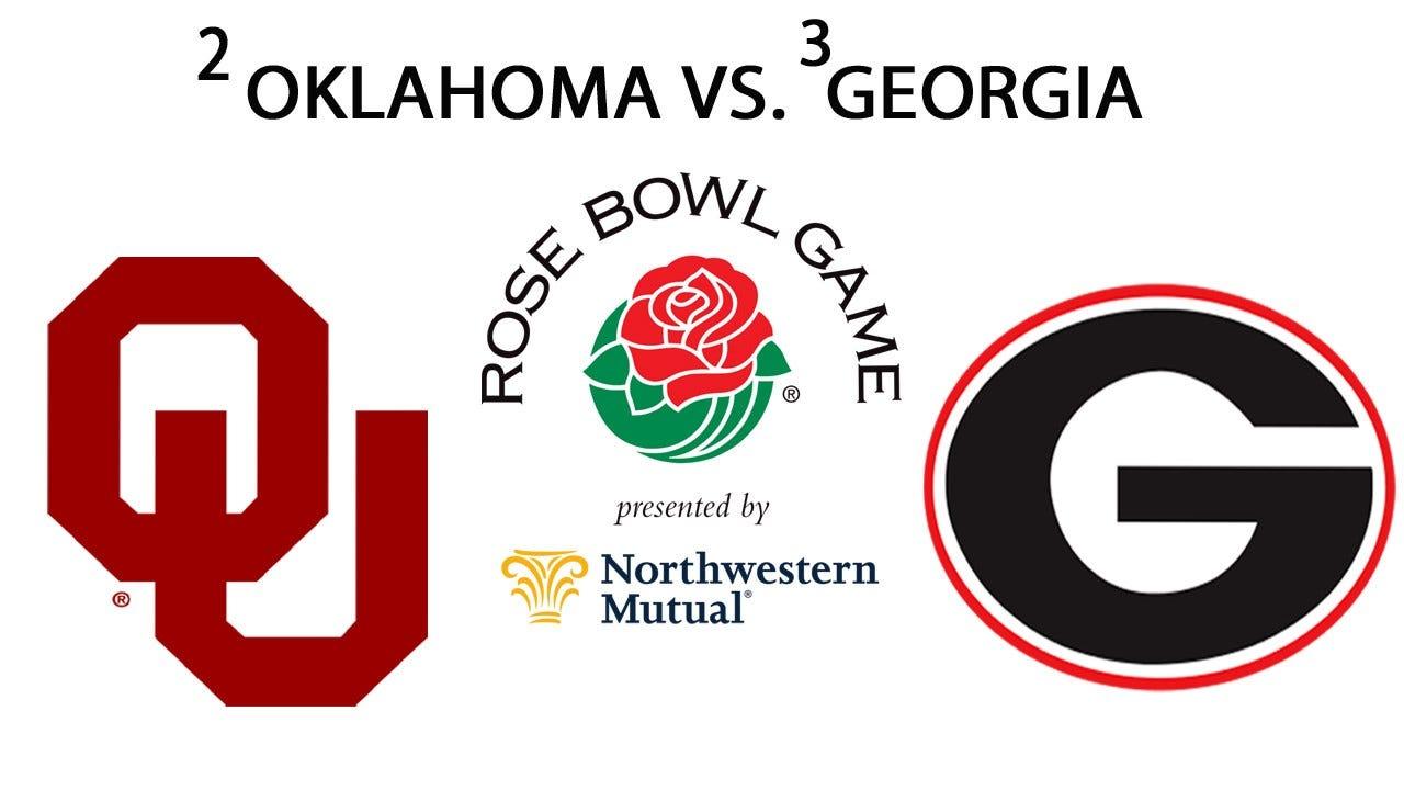 No. 2 Oklahoma To Face No. 3 Georgia In CFB Playoff Semifinal