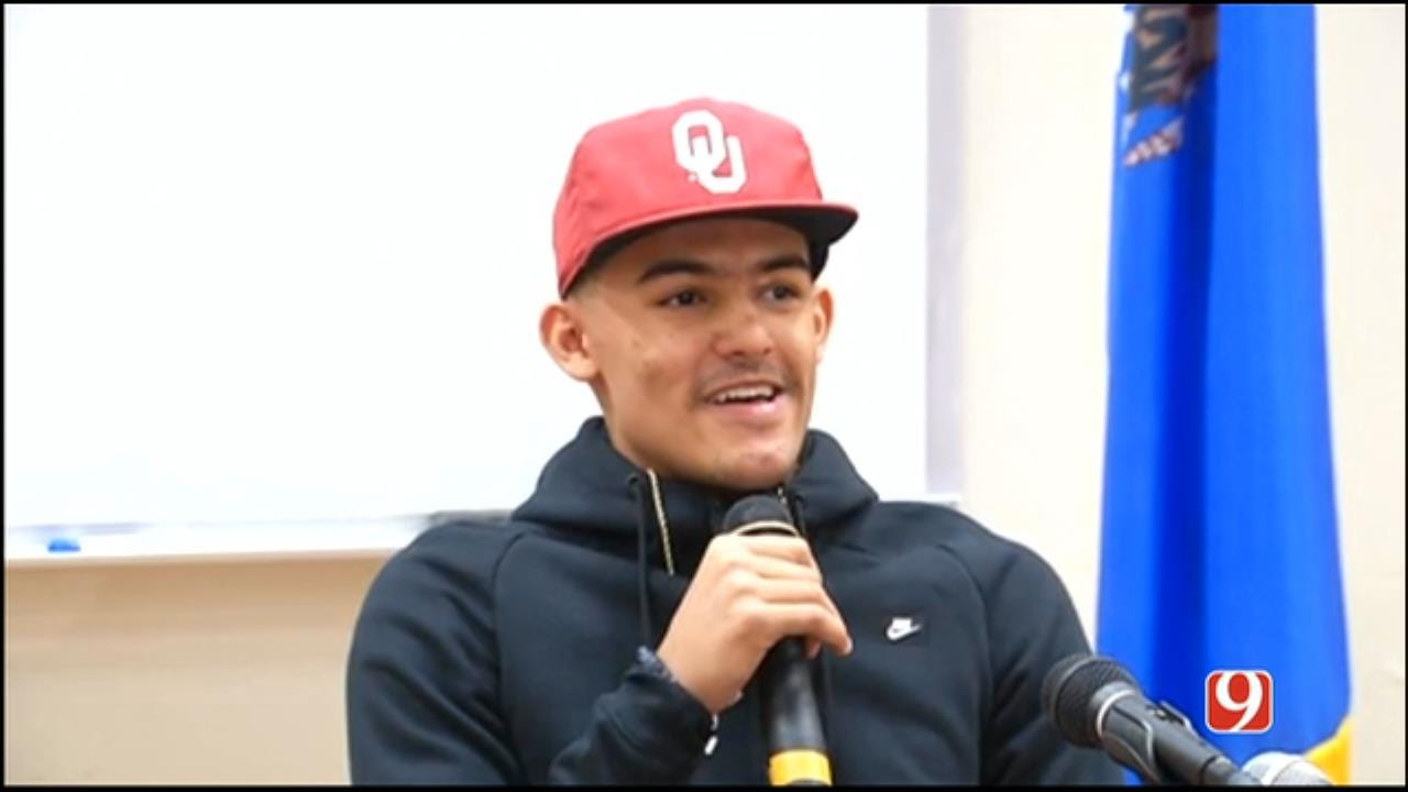 Sooners: Trae Young Is Staying Home