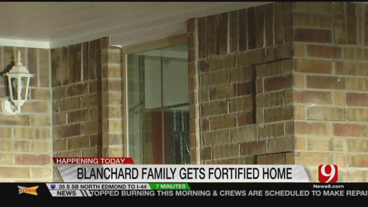 Blanchard Family Moves Into Strongest Habitat For Humanity Home In OK