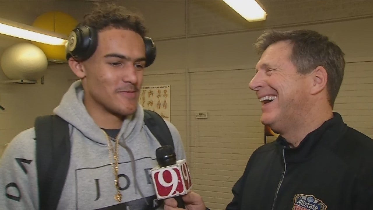 WATCH: Dean Blevins Goes 1-On-1 With Norman North's Trae Young