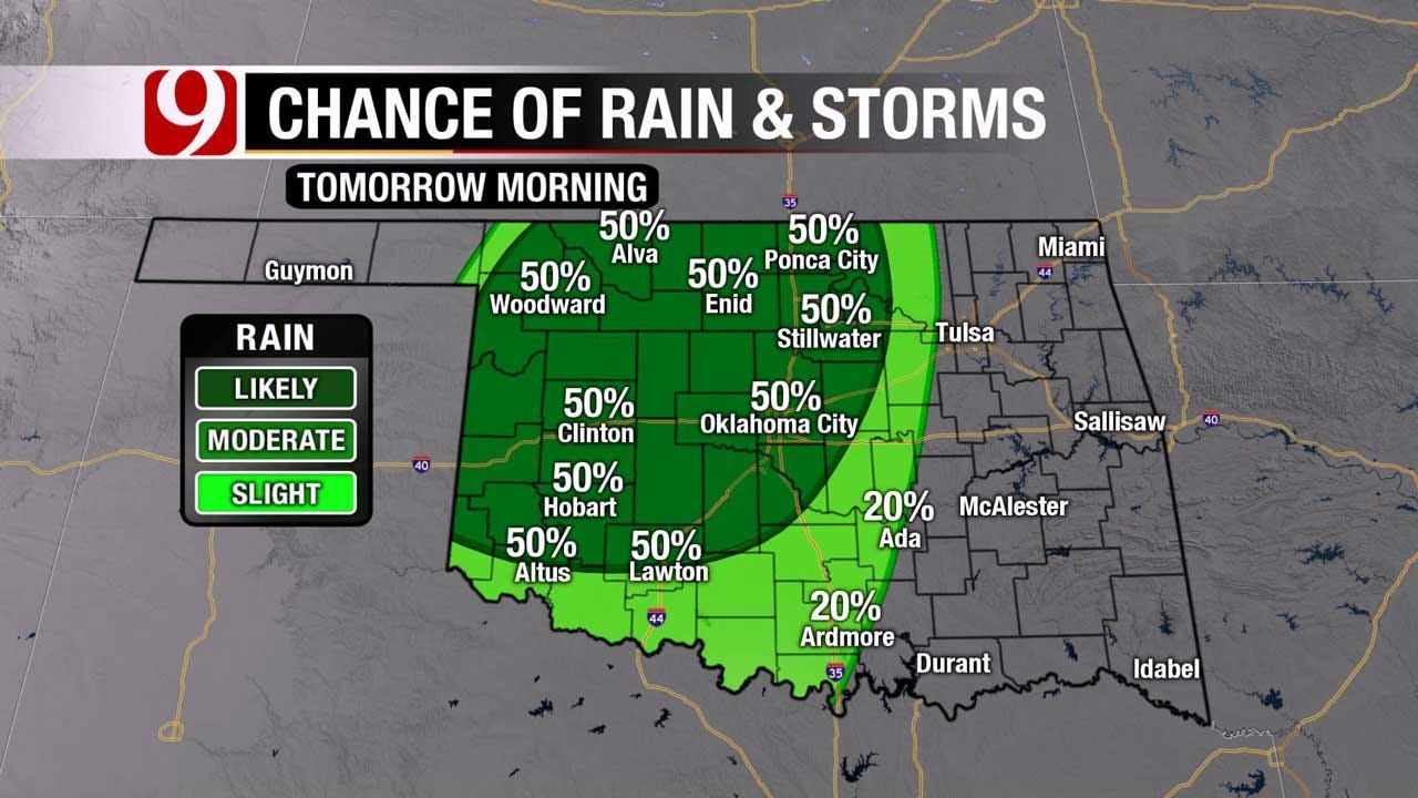 Partly Cloudy And Mild Saturday, Rain And Storms Chances Return Sunday