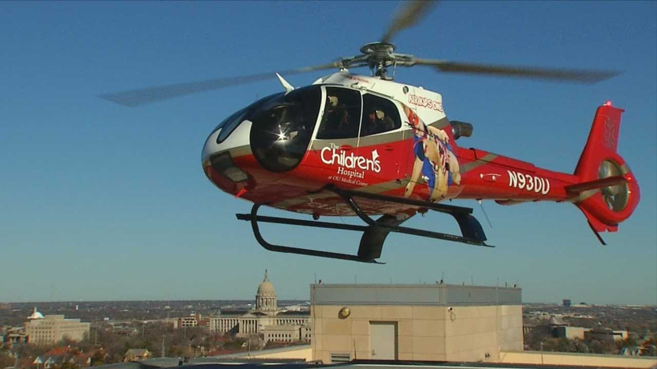 'Air Kids One' Helps Critically Ill Children In Oklahoma