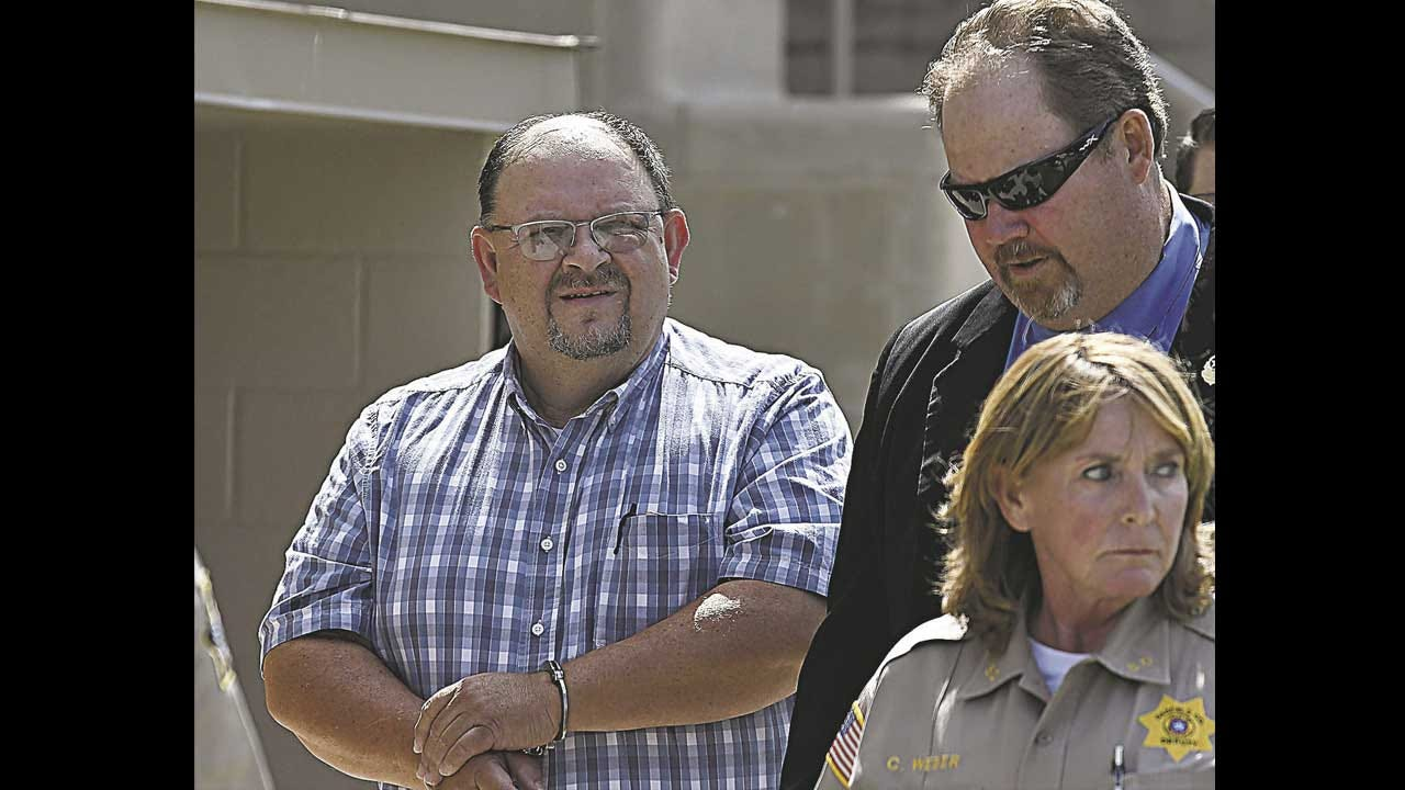 Garfield County Sheriff And Five Employees Booked For Manslaughter