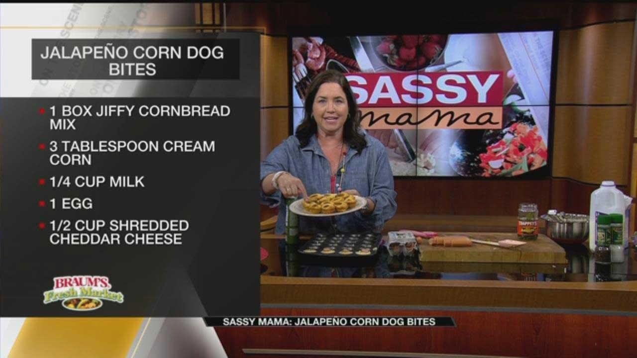 Jalapeño Corn Dog Bites