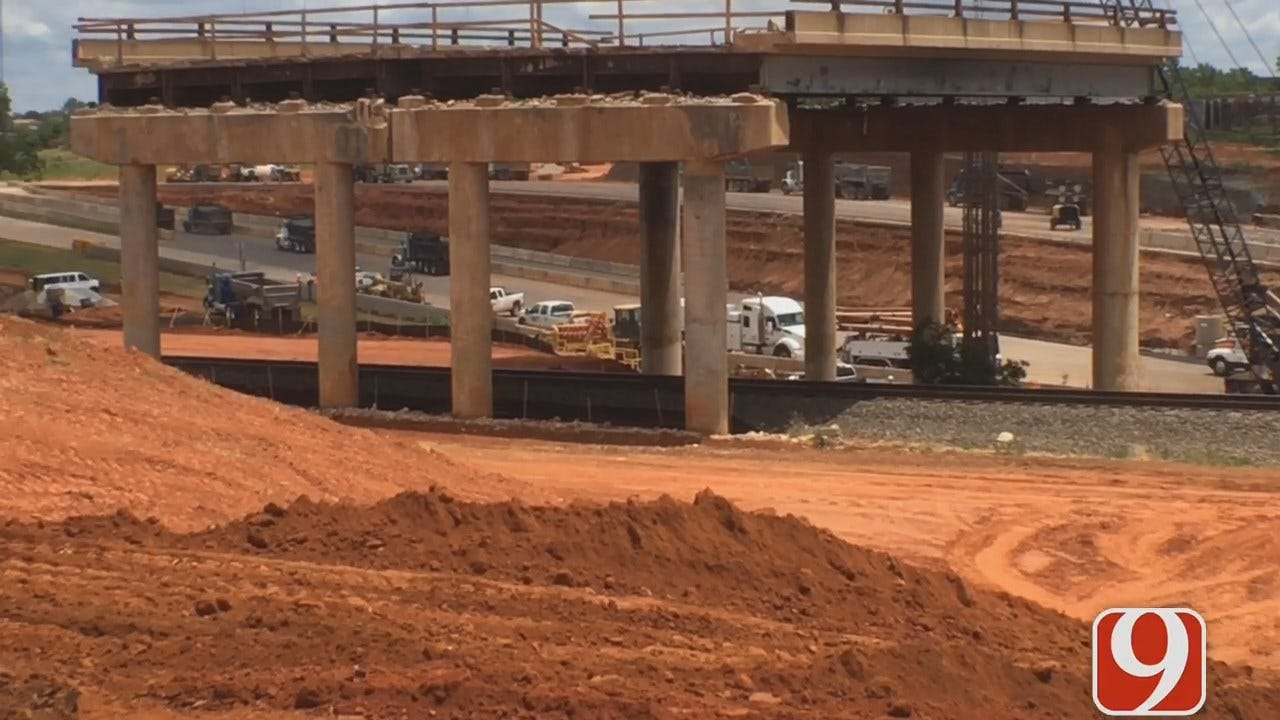 ODOT Says I-235 Construction Is Ahead Of Schedule