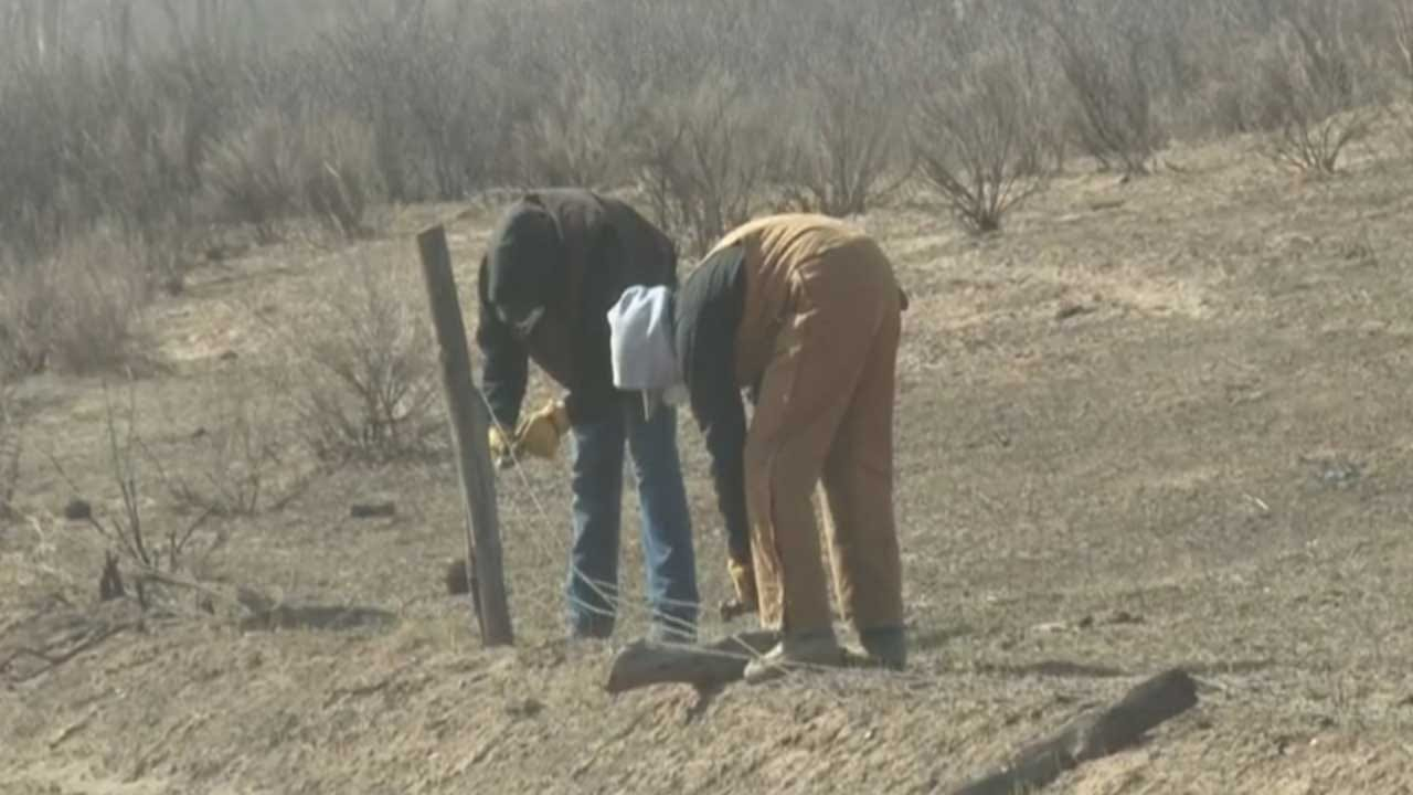 Students Spend Spring Break Repairing Fences Ruined In NW OK Wildfire