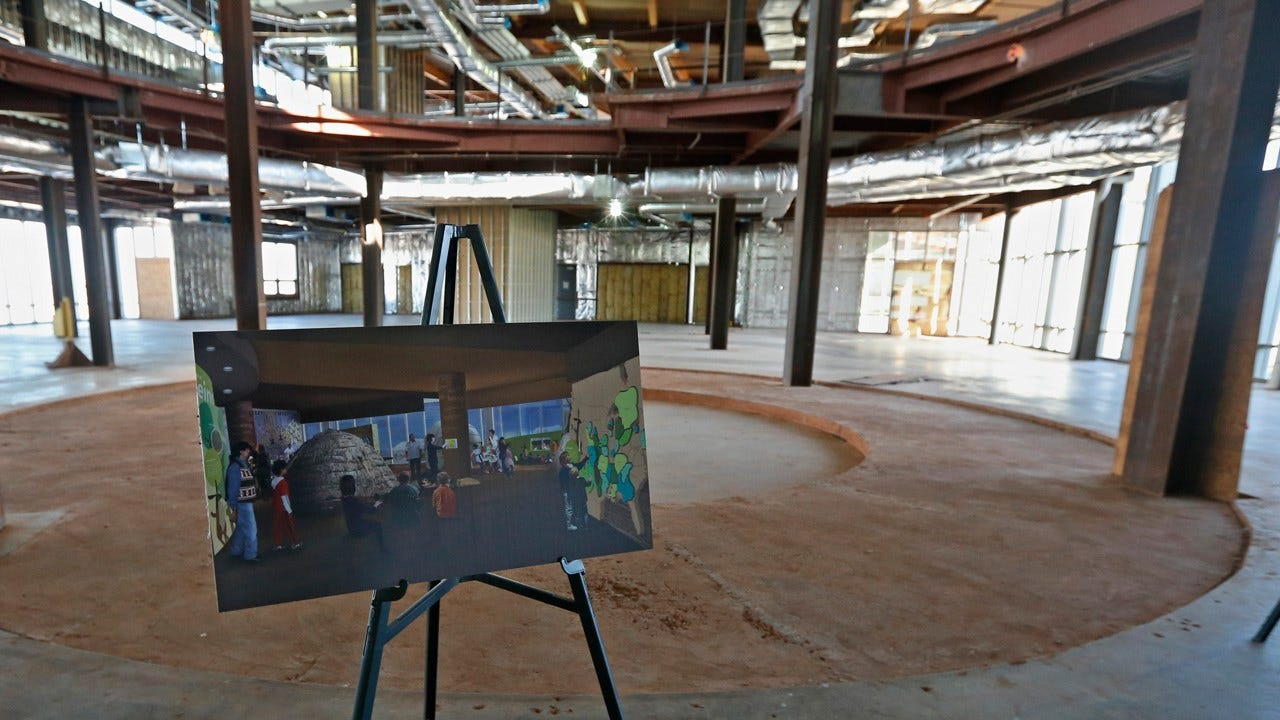 OKC, Chickasaw Nation Nearing Deal To Resume Work On American Indian Cultural Center