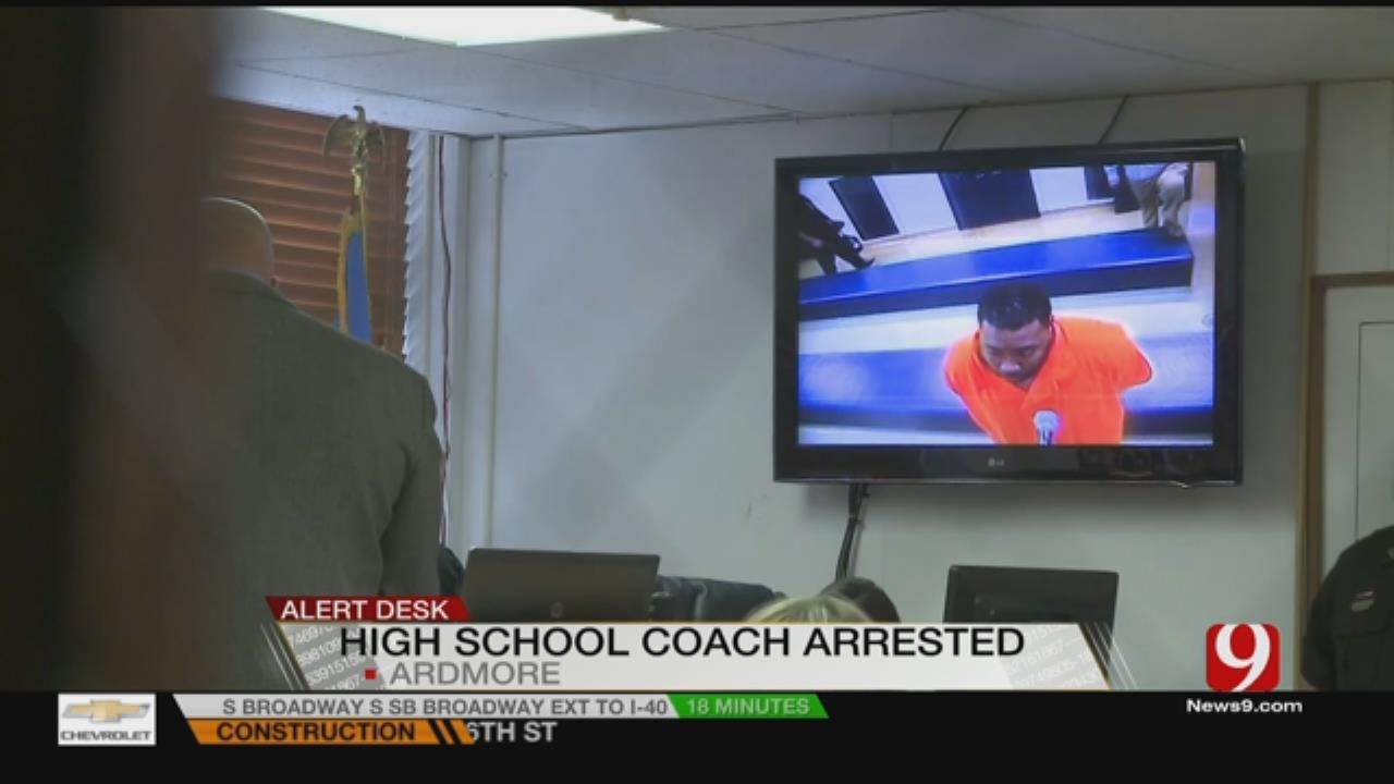 Ardmore Coach Arrested For Soliciting Sex From A Minor