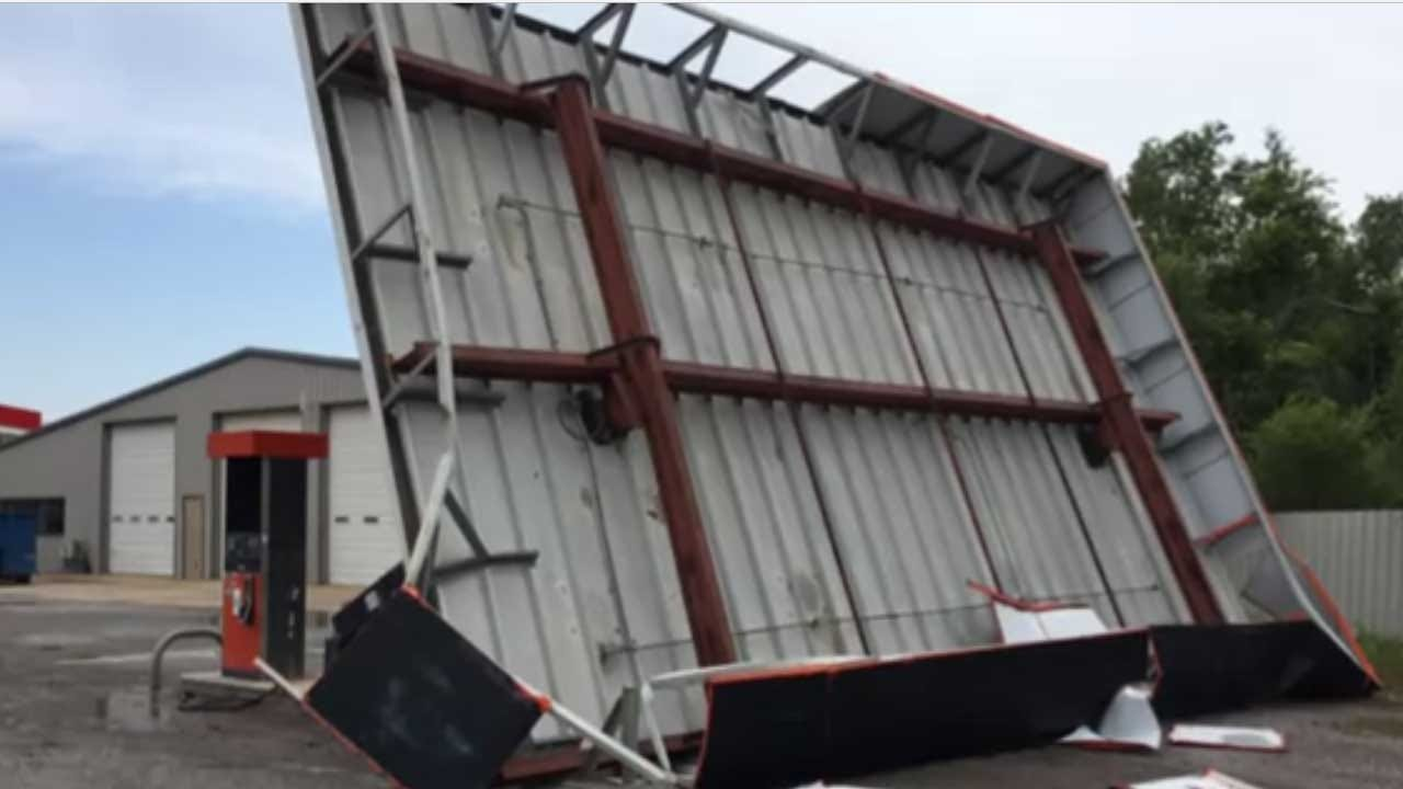 Cordell Starts Clean Up After Storm Brings Damaging Winds