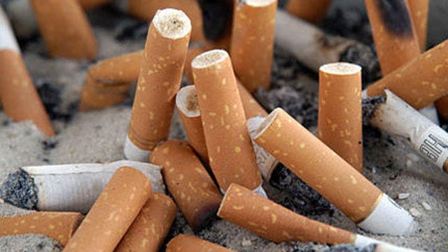 Firefighters Warn Residents Of Fires Sparked By Cigarette Butts