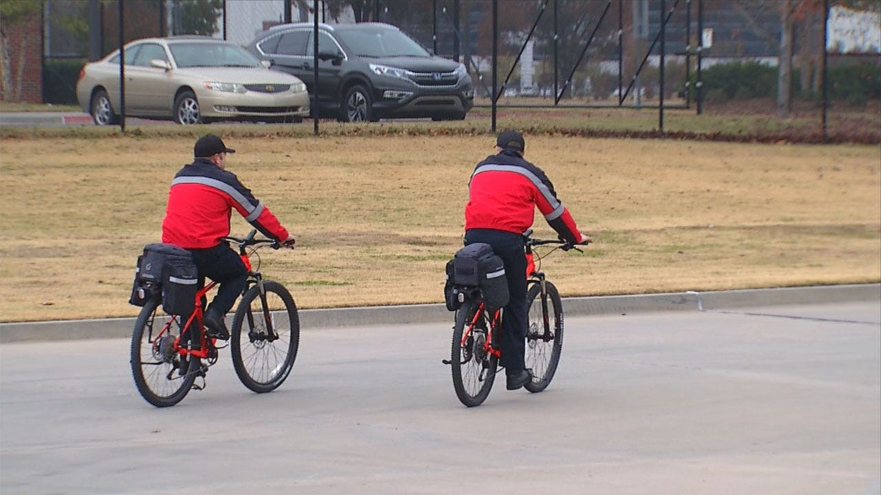 Norman Fire Department Starts Bicycle Response Team