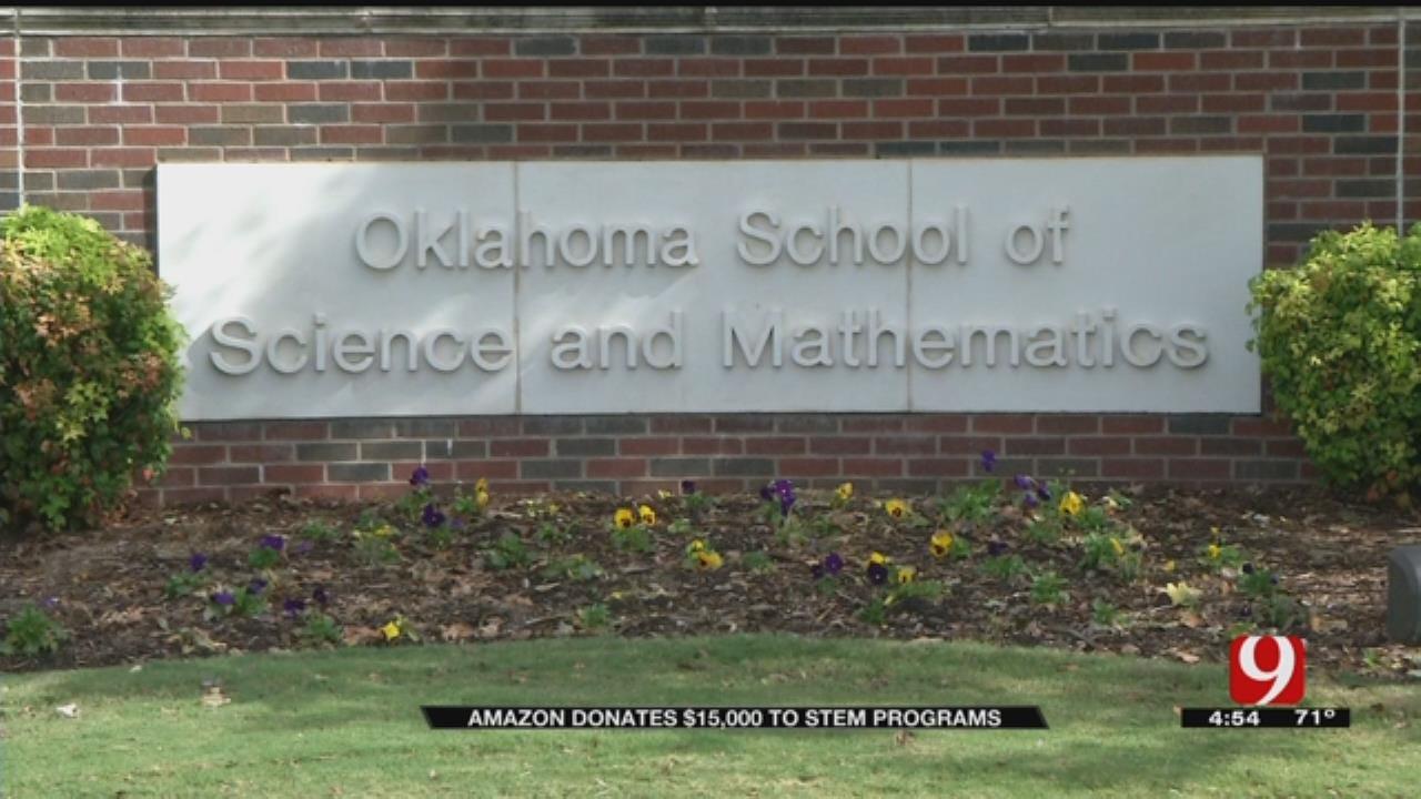 Amazon Donates $15K to STEM Programs