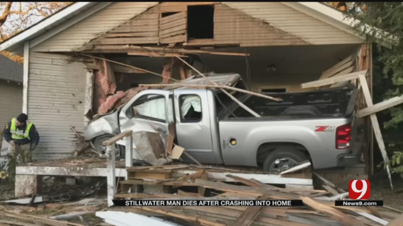 Stillwater Man Dies After Crashing Into Home