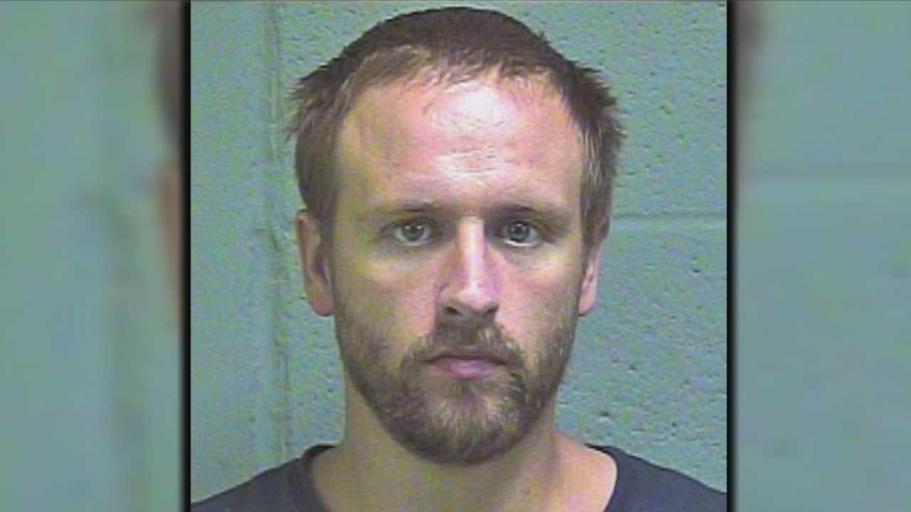 Tuttle Police Body Cam Captures Wanted Suspect's Arrest