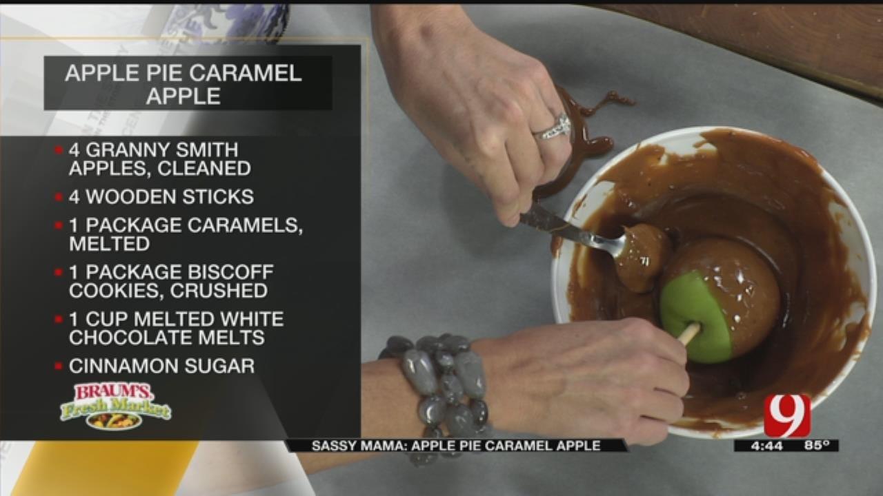 Apple Pie Caramel Apple
