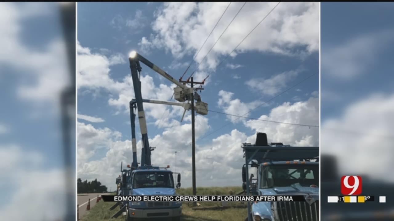 Edmond Electric Crews Help Floridians After Irma