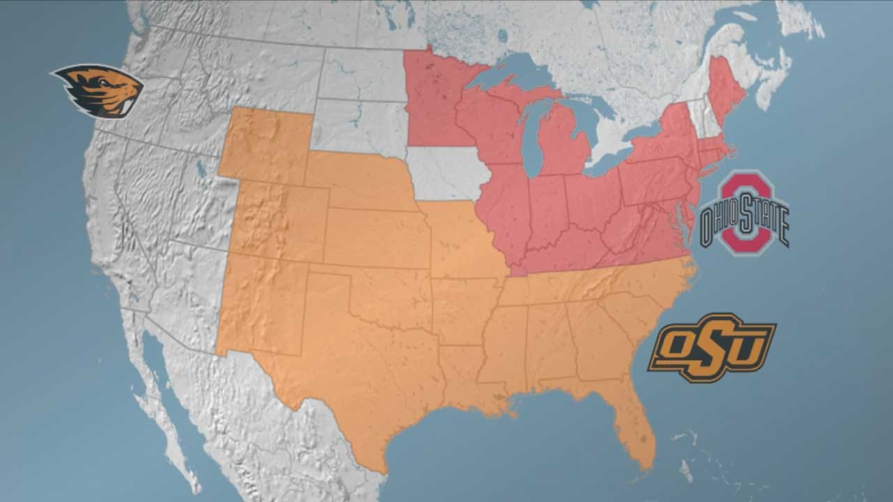 OK State, Ohio State Reach Trademark Agreement