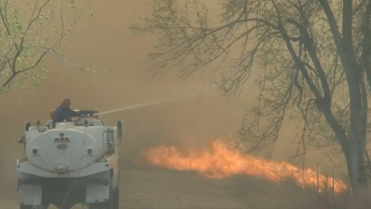 Firefighters Spend Last Week Battling NW OK Wildfires