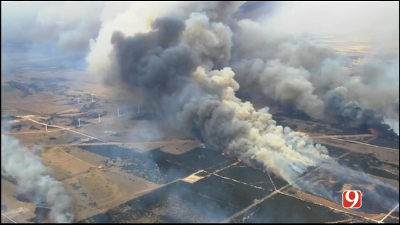 Wildfires Continue To Ravage Western Parts Of Oklahoma