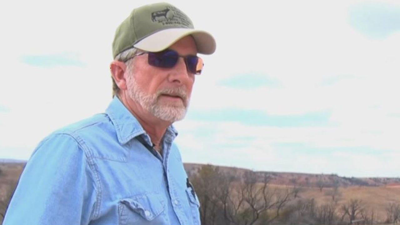 Oklahoma Man Uses Garden Hose To Survive Wildfire
