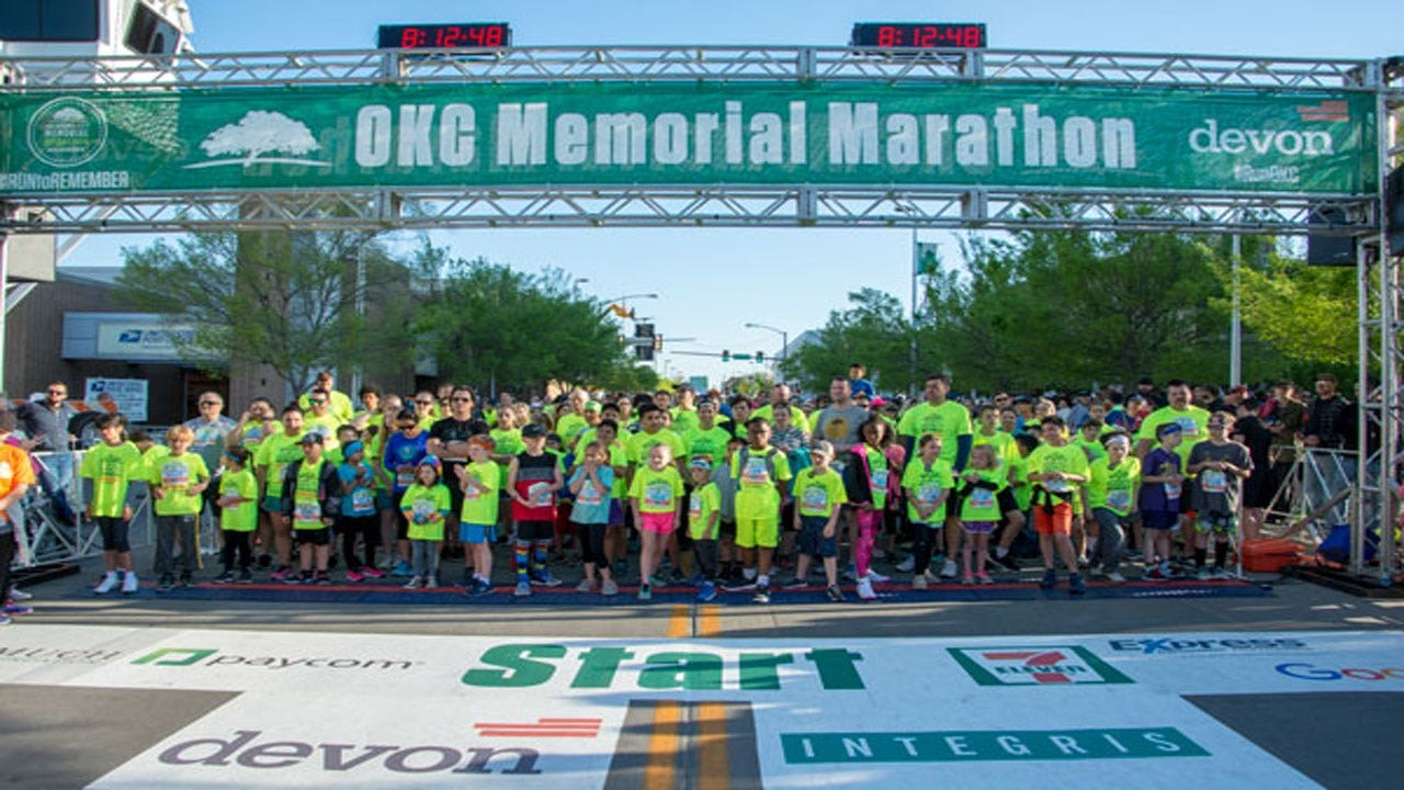 Organizers Announce New Course For OKC Memorial Marathon