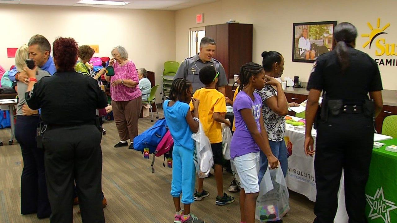 """Grandparents Raising Grandchildren"" Event Supplies 400 Backpacks To Students"