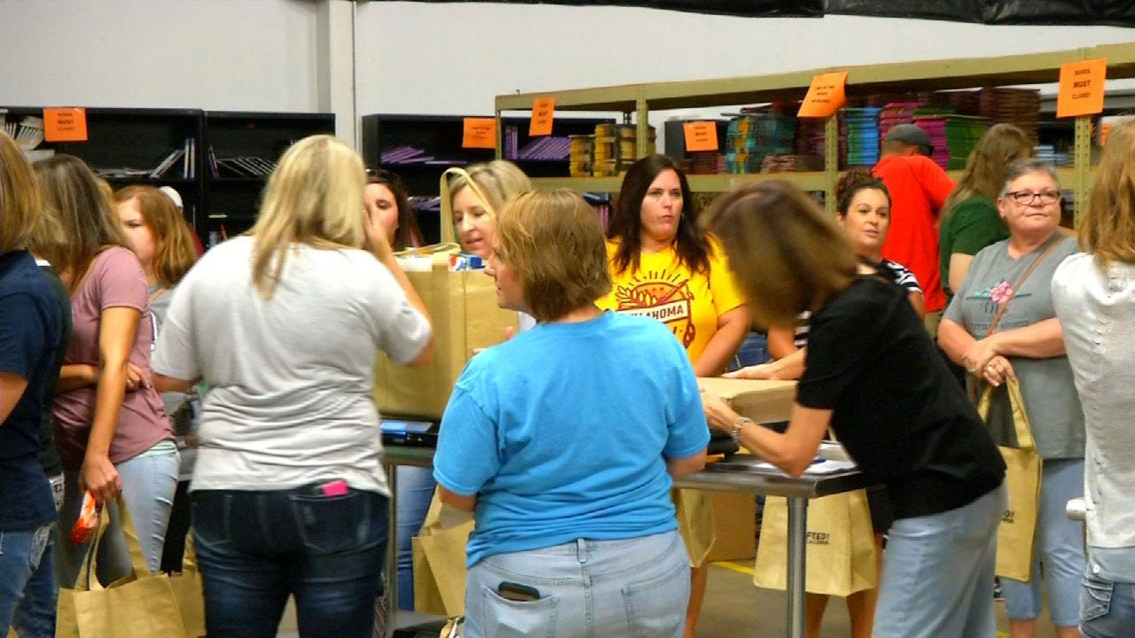 Feed The Children Helping Oklahoma Teachers With School Costs