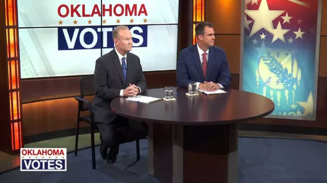 OK GOP Gubernatorial Candidates Argue Over Trump Support