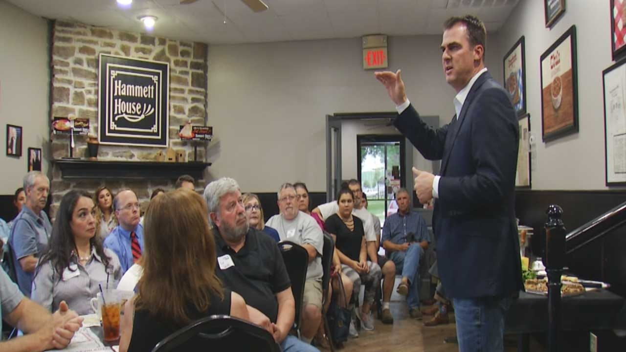 Kevin Stitt Wants To Give Schools Districts More Control Over Spending