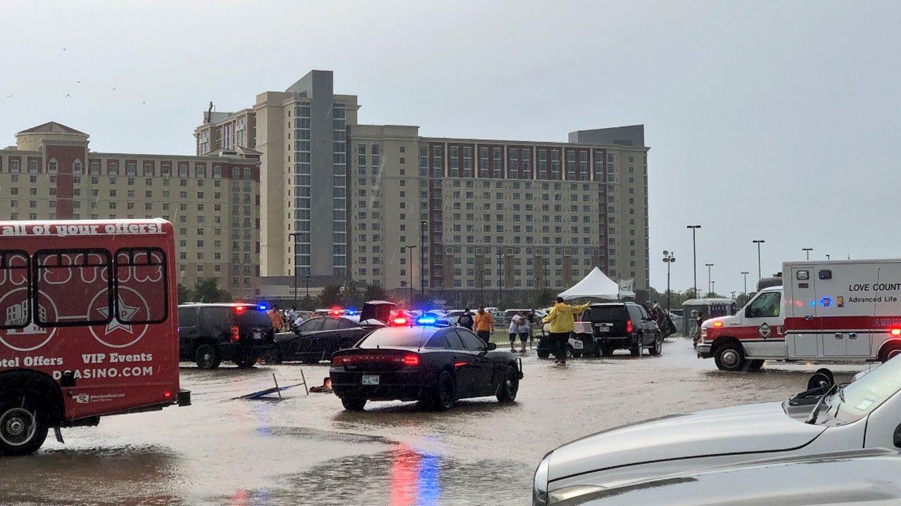 Fans Injured Waiting For Backstreet Boys Concert At WinStar Casino