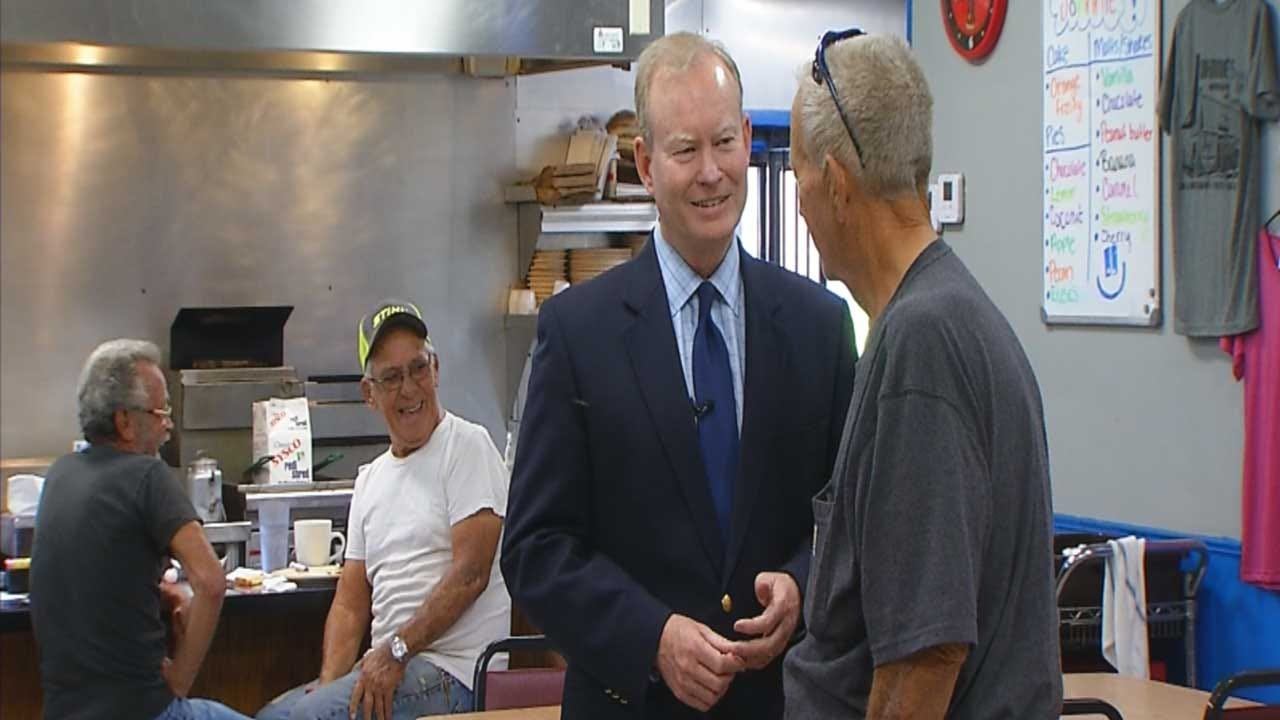 Cornett Answers Questions About Education During Stop In El Reno