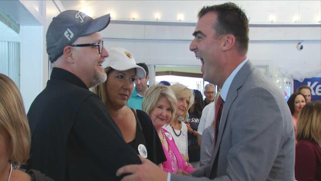 Stitt Feeling Confident As Republican Runoff Election Approaches