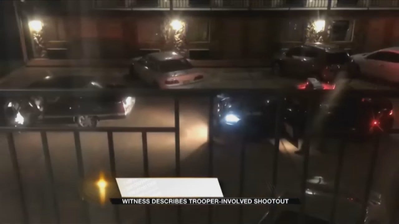 Witness Describes Trooper-Involved Shootout In Woodward