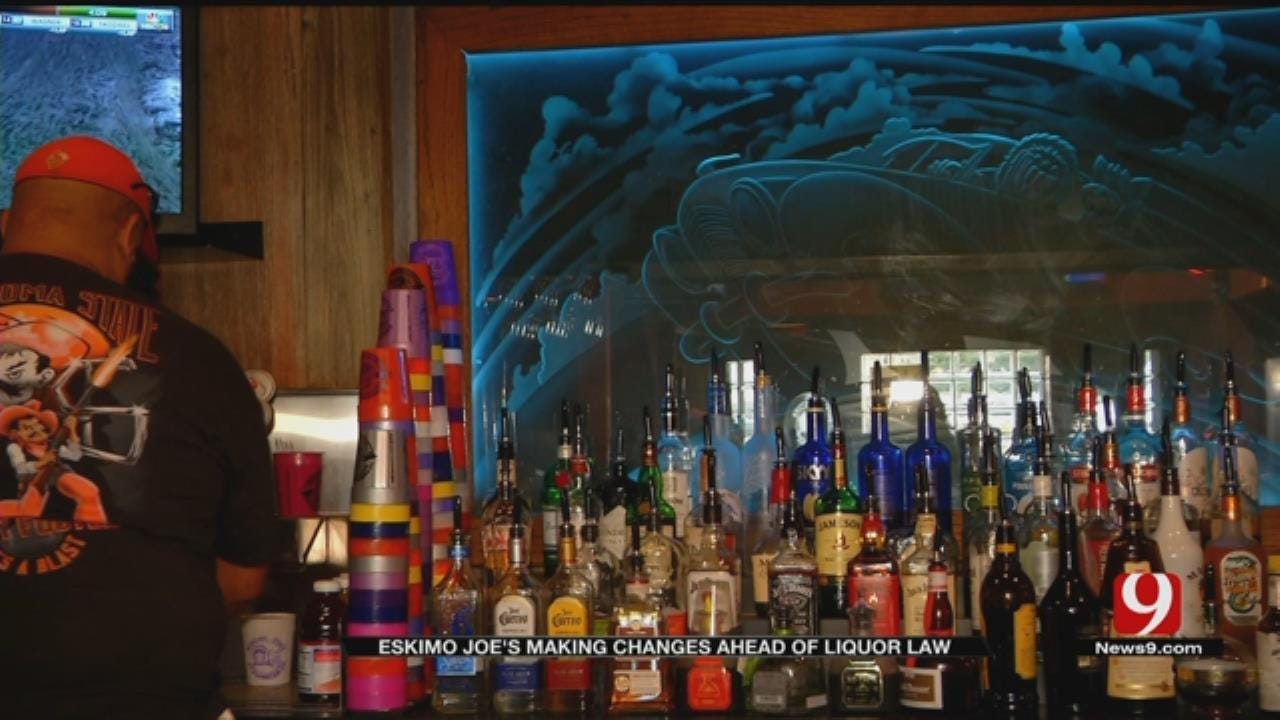 Eskimo Joe's Making Changes Ahead Of New Liquor Law