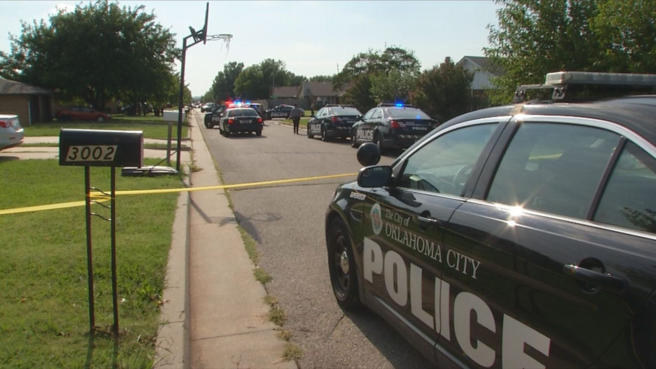 Shots Fired Inside Home Causes Big Scare In SW OKC