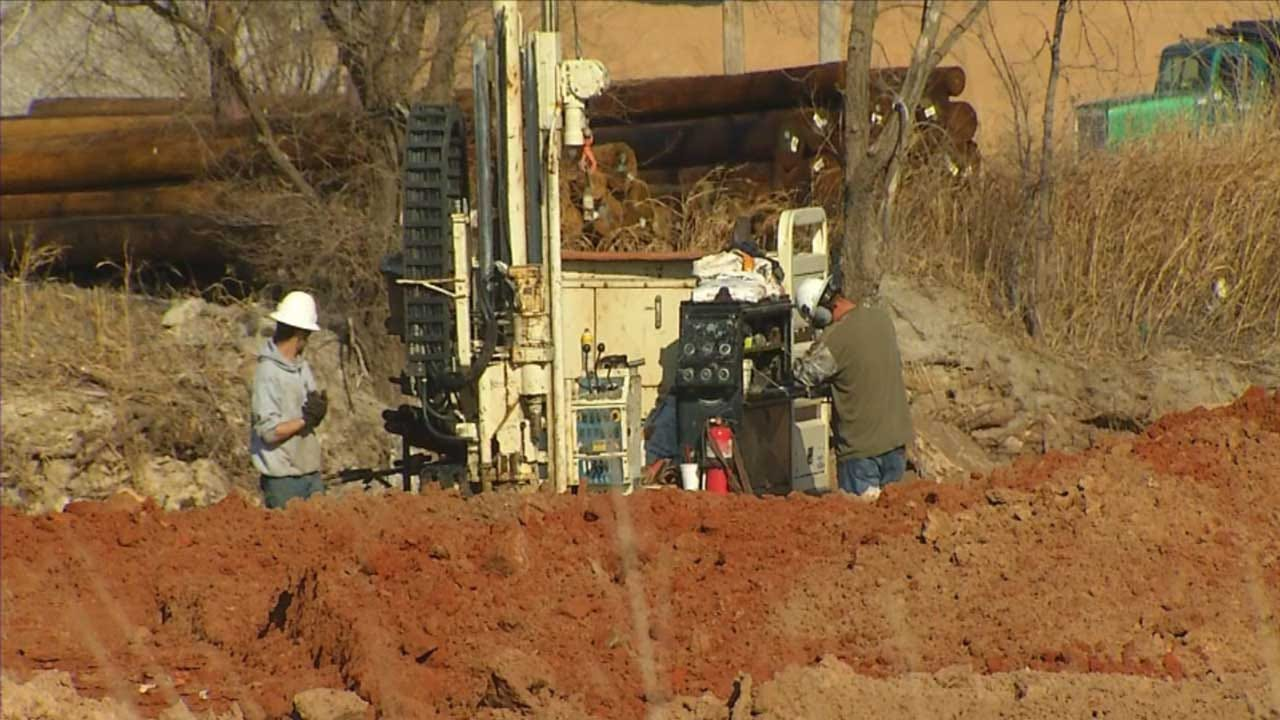 OKC Construction Crew Unearths Decomposed Body