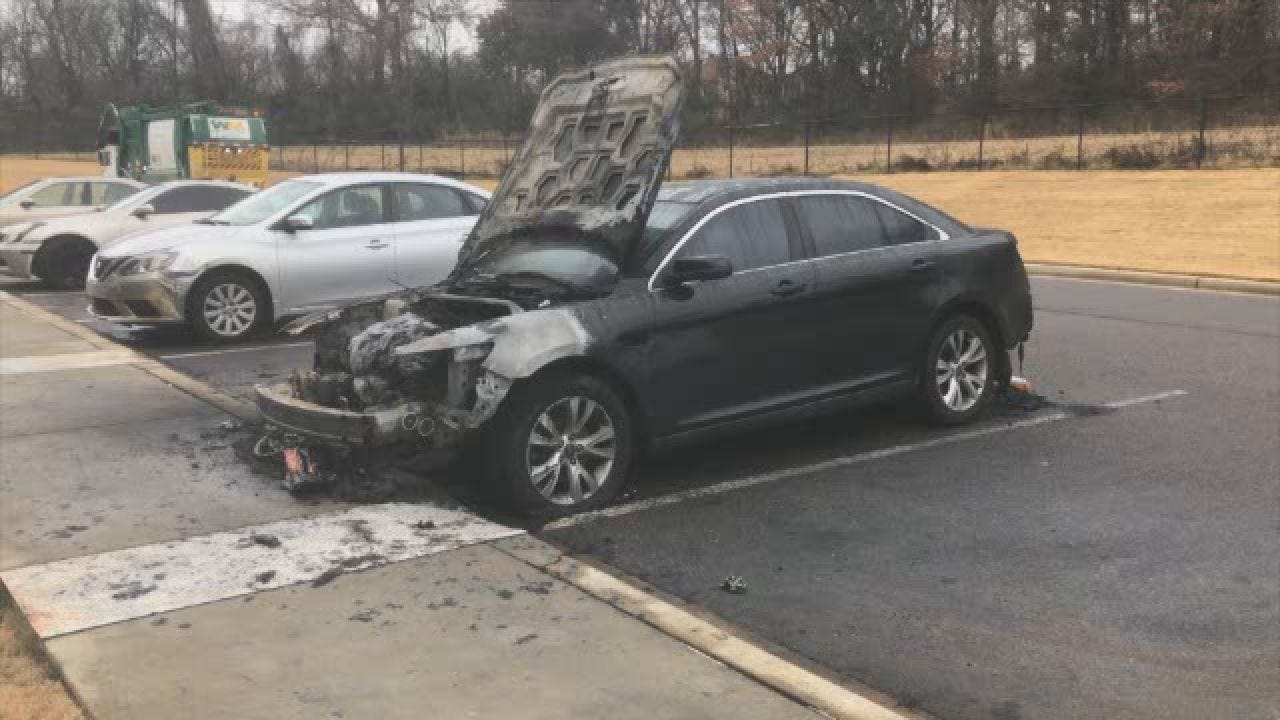 Vandals Set Car On Fire With Kids' Christmas Gifts Inside