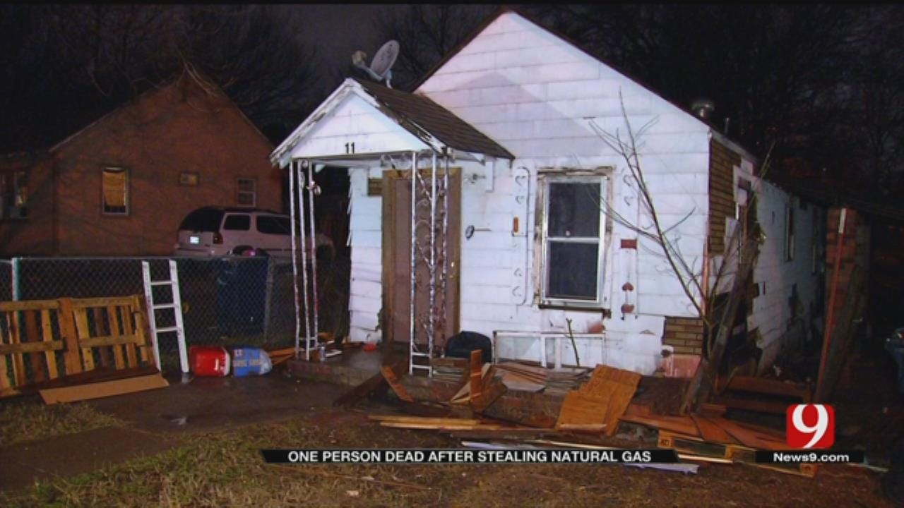 1 Person Dead In SW OKC House Fire After Stealing Natural Gas