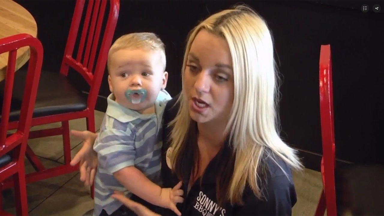Waitress Saves Choking Toddler