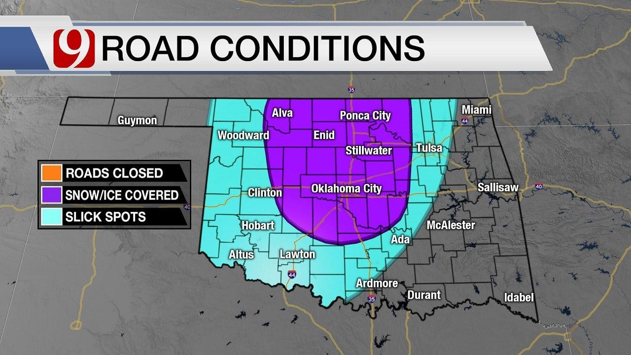 Weather Update: Travel Advisory In Effect; More Wintry Precipitation Likely Wednesday