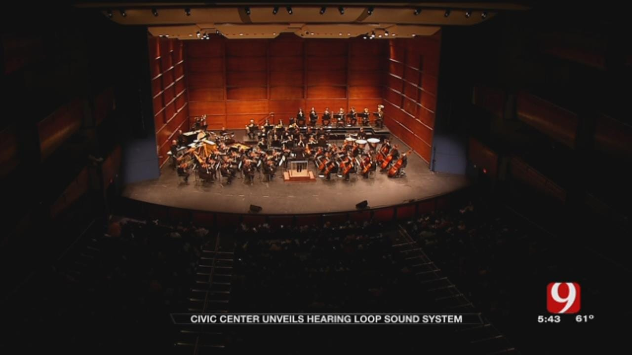 OKC's Civic Center Music Hall Adds 'Hearing Loop'
