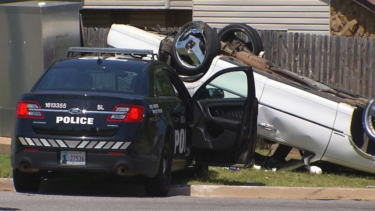 OCPD Investigating Rollover Crash Involving Officer