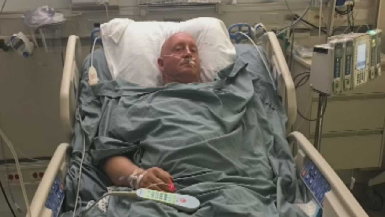 OKC Officer Returns To Duty After Rare Spinal Stroke
