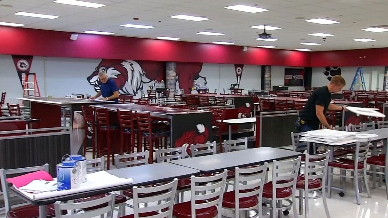 Capitol Hill And Northwest Classen Show Off New Cafeterias