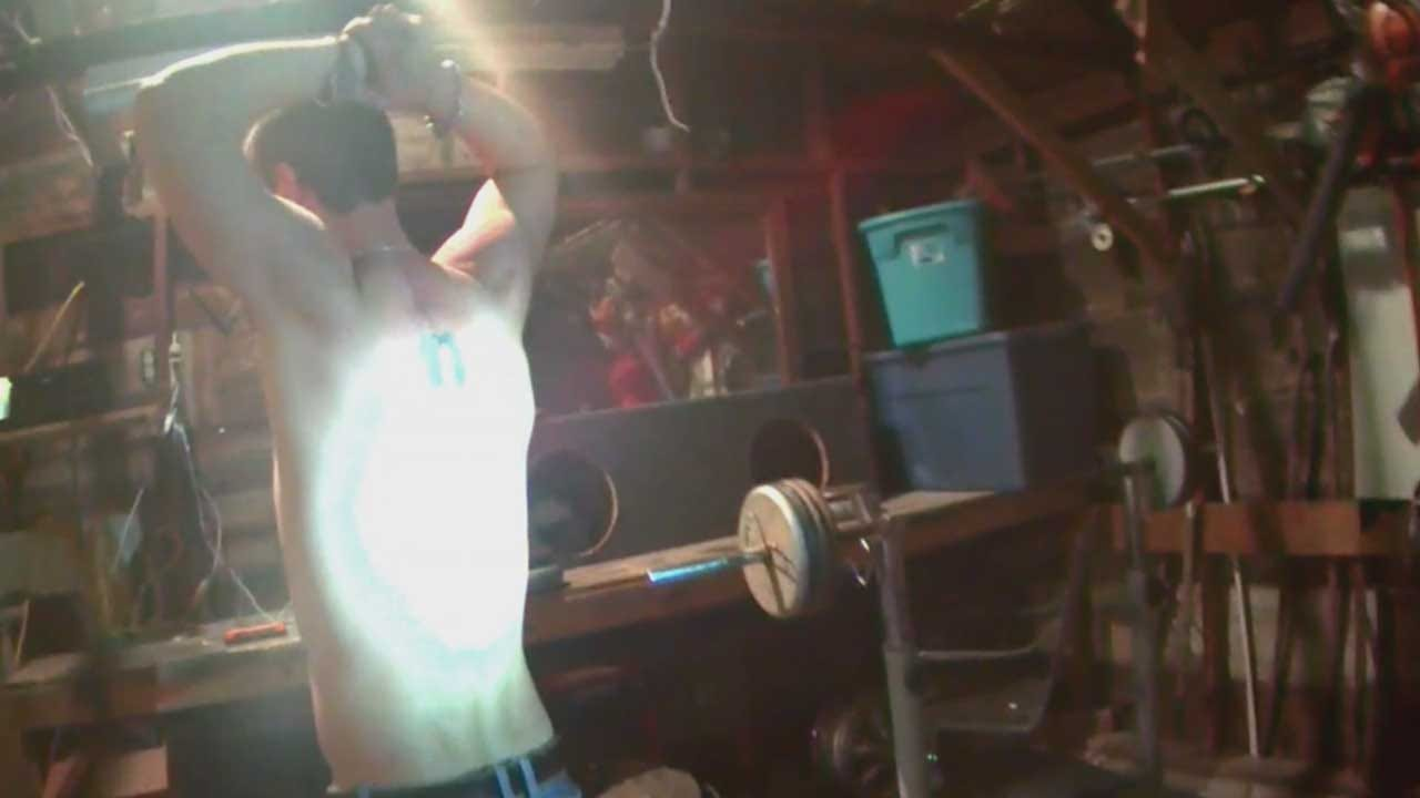 Bodycam Shows Police Arrest Man Hiding In Guthrie Garage