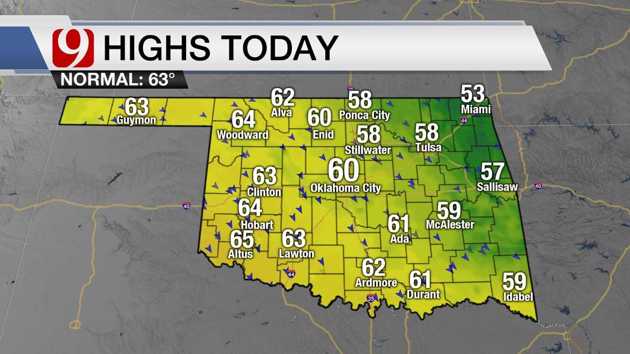 March Winds Bring Chills For 1st Day Of Spring