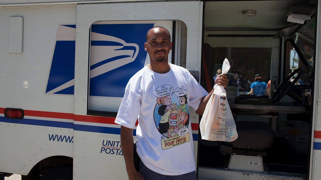 Feeding Hope And Letter Carriers' Food And Fund Drive