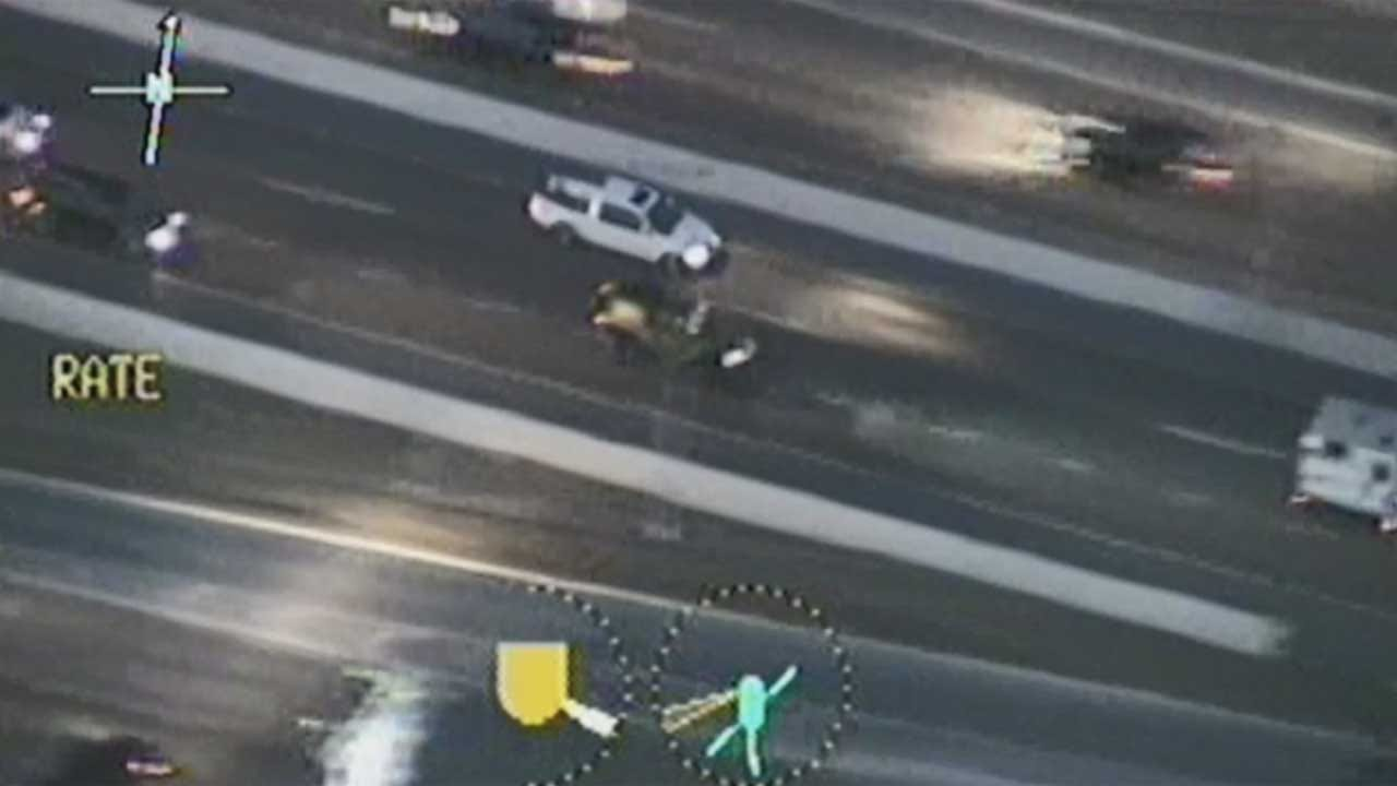OCPD's Air 1 Helicopter Captures Dramatic Video Of Stolen Vehicle Chase